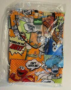 Sesame Street Tooniforms Scrubs V-neck Top TF633 SWDU Size XS Brand new w/ tags