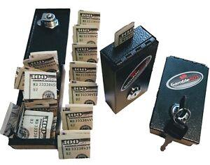 Gambling pocket bank gamblebox casino money cash lock safe keeper winners helper