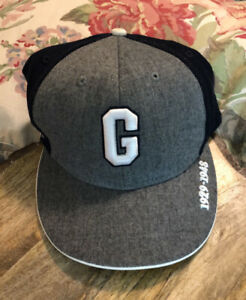 Homestead Grays Negro League Fitted Baseball Hat Cap WOOL 1929-1948 Embroidered