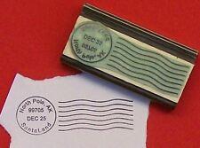 Christmas Santa North Pole Postmark rubber stamp