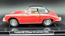 MODELLINO AUTO PORSCHE 356 SCALA 1:24 CAR MODEL MINIATURE DIECAST MINIATURAS