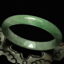 Green Jadeite Jade Bracelet Bangle 1733 61mm Certified (Grade A) Natural ice