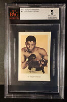 1964 Vintage Dutch Numbered Set 1 Boxing Gum Card #57 Floyd Patterson BVG 5 EX