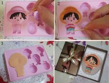 Luffy Fondant Chocolate Clay Jelly One Piece Anime Rubber Mold Molder