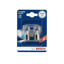 Bosch Longlife Freno/Niebla Bombilla 382 Bombilla P21W 12V-SINGLE