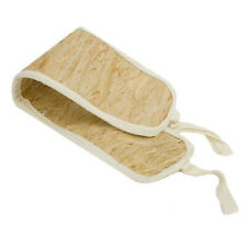 Exfoliating Bast Natural Bath Back Scrubber with Handles, Made in Russia