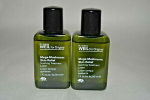 2x Origins Mega-Mushroom skin relief Soothing Treatment Lotion 1 oz each