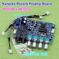 PT2399 Karaoke OK Microphone Reverberation Audio Pre Amp Amplifier Reverb Board