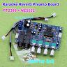 PT2399 Karaoke OK Microphone Reverberation Audio Pre Amp Amplifier Reverb Board