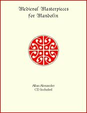 Medieval Masterpieces For Mandolin Book/CD Includes Both Notation & TAB plus CD