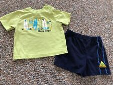 Surf Board T-Shirt & Shorts 12M