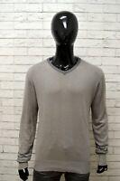 Maglione Uomo BEST COMPANY Taglia Size L Pullover Cardigan Felpa Lana Sweater