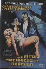 The Satanic Rites of Dracula (1974) Christopher Lee, Peter Cushing ~Region 2 DVD
