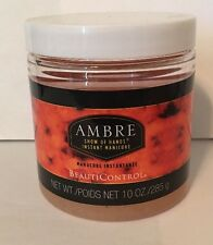 Beauticontrol Instant Ambre Show of Hands Instant Manicure New Sealed 10 oz Jar