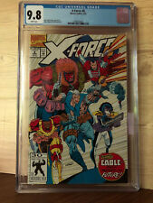 X-Force #8 (Mar 1992, Marvel) CGC 9.8 Origin of Cable Domino appearance