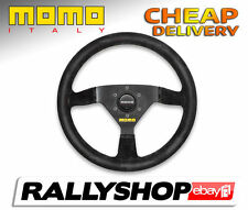 Momo MOD.69 Suede Black 69 Steering Wheel CHEAP DELIVERY race rally 350 mm