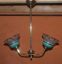 1950's  Ceiling Light / Chandelier Vintage French (Retro)