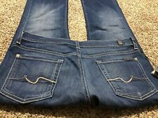 NWT 7 FOR ALL MANKIND BOOTCUT NEW WOMENS DESIGNER JEANS SIZE 29
