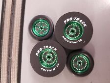 Pro Track N403B Green Pro Stars 1 5/16 x 300 & Big O Ring Fronts Drag Tires
