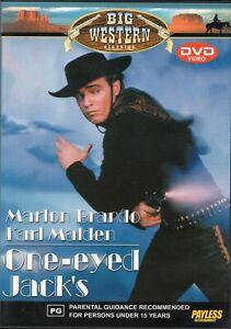 ONE-EYED JACK'S starring Marlon Brando (DVD, 2002)