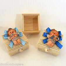 Offerta stock Bomboniere scatoline angelo battesimo nascita comunione compleanno