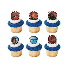 HOW TO TRAIN YOUR DRAGON 2 Hiccup and Toothless cupcake cake rings decorations