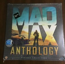 MAD MAX ANTHOLOGY - VINTAGE COLLECTION - LIMITED EDITION - 4 BLURAY NEW & SEALED