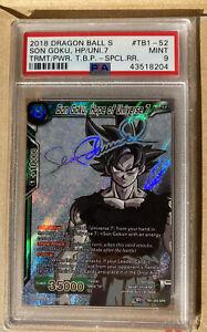 Son Goku, Hope of Universe 7 SPR Dragon Ball Super Card TB1-052 PSA 9 MINT