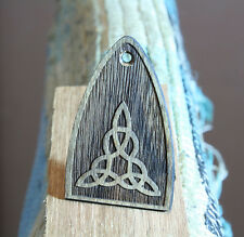 Truss rod cover carved Celtic knot rosewood Fits PRS guitar Handmade