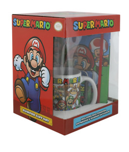 Brand New Boxed/Sealed: Official Nintendo SUPER MARIO BUMPER PREMIUM GIFT SET