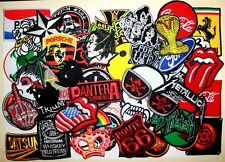Wholesale 50 Music Auto Sports Car Biker Rock Music Animal Logo Iron on patch #2