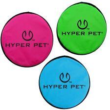"""Hyper Pet FLIPPY FLOPPER 9"""" Dog Toy Floppy Flyer Soft Bite Frisbee Disc"""