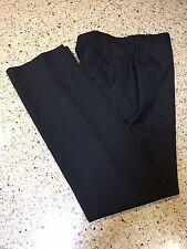 mens helmut lang Black Dress Slacks Pants Trousers Size 31x36