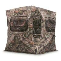 Portable Hunting Ground Blind Heavy Duty Blacked Out Interior Oversize Zippered