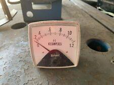 Panel Ammeter 0-1200A (#205)