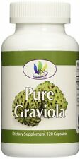 Fresh Health Nutritions Graviola 120 Capsules Bottle 1300 mg Servings No Gelatin