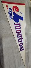 Vintage Montreal Expos Full Size Pennant 70's