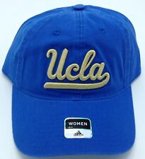 NCAA UCLA Bruins Adidas Womens Adjustable Fit Slouch Curved Brim Cap Hat NEW!