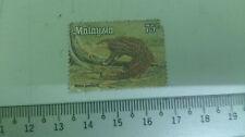 Malaysia 75 cent Stamp Manis Javanicus Art