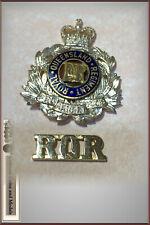 Royal Queensland Regiment Hat Badge & Shoulder Title