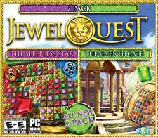 Jewel Quest The Sleepless Star 5 & Seventh Gate 3 PC Game Window 10 8 7 Computer