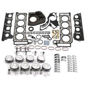 Engine Overhaul Pistons Gaskets Set For Mercedes-Benz S500 W212 W221 C218 M278