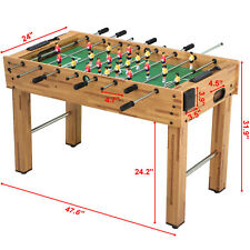 "Room Hockey Foosball Table 48"" Competition Sized Arcade Game Family Sport"