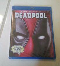 Deadpool (Blu-ray/DVD, 2016, 2-Disc Set) Brand New Sealed Movies Ryan Reynolds