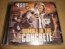 DJ 4SHO - Rumble In The Concrete Jungle  (THE GAME JIM JONES 50 CENT RAS KASS)