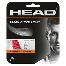 HEAD Hawk Touch 17 Tennis String (Red) Authorized Dealer
