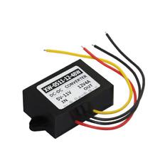 Dc 5~11V Stepup to Dc 12V 4A 48W Converter Regulator Car Power Supply Adaptor