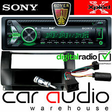 ROVER 75 Sony DAB Bluetooth CD MP3 USB Car Stereo & Steering Wheel Fitting Kit