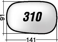 310 SD RICAMBIO SPECCHIETTO RETROVISORE FORD KA SINISTRO DESTRO CON BIADESIVO