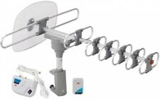Outdoor Motorized Antenna, Reception Rotates Amplified Channels Signal New
